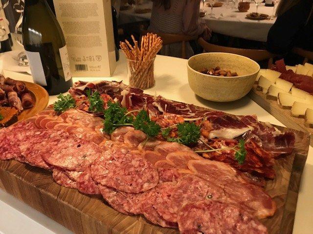 tapas og spansk vin